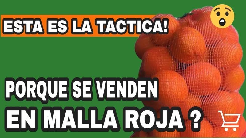 Por Qué Las Naranjas 🍊 Se Venden Con Una Malla Roja