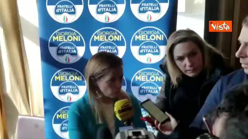 97829761 17 01 20 Caso Gregoretti Meloni Una vergogna tentare di rinviare il voto su Salvini maggioranza vigliacca 0050 webmpg m