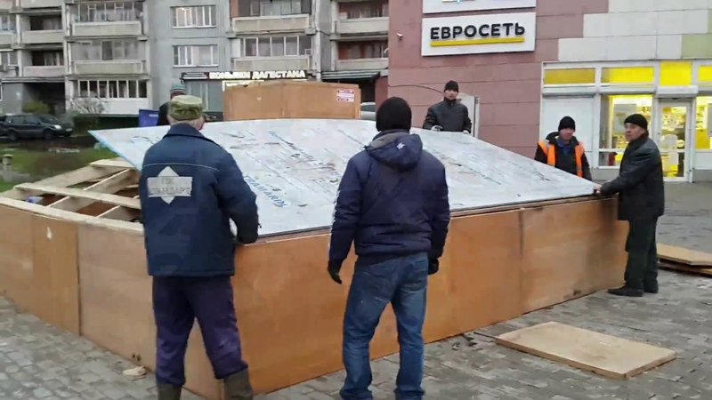 Строительство мавзолея у м. Печатники