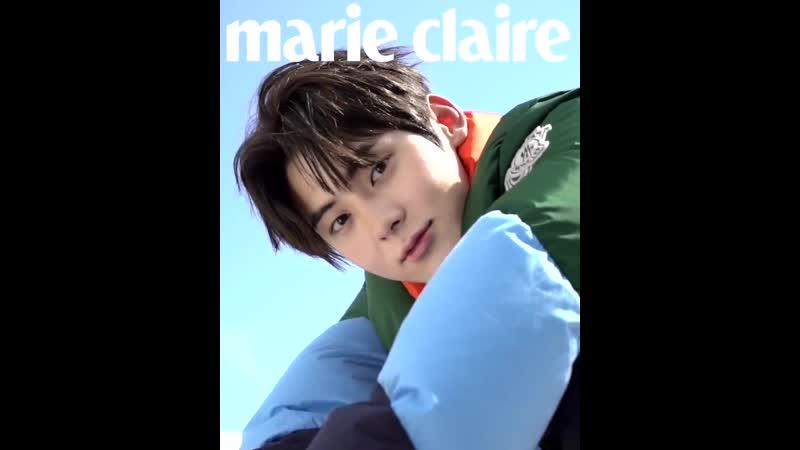 [VIDEO] МинХён для ноябрьского номера журнала Marie Claire Korea совместно с брендом Moncler