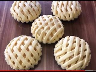 Ананасовые тартики.Очень нежные и безумно вкусные!!! pineapple tartiki, insanely delicious