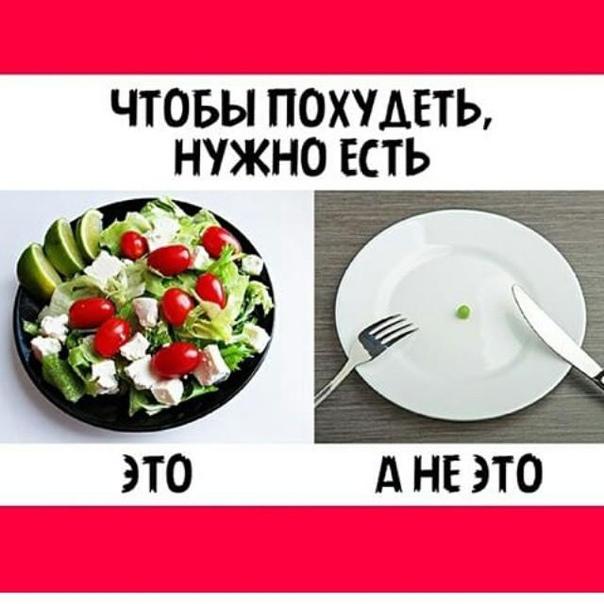 Ешь Чтобы Похудеть. Как питаться, чтобы похудеть: режим питания и советы диетолога