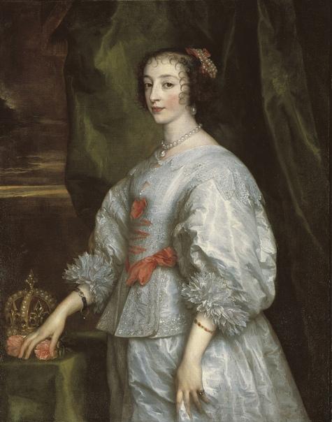Sir Anthony van Dyc /Антонис ван Дейк (Antwerp 1599-1641 London) Портреты королевы Англии Генриетты-Марии.