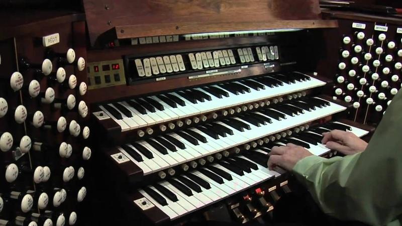 Kenneth Dake-Toccata pour grand orgue, Op. 104, Joseph Jongen