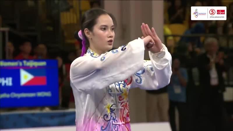 Aгата Вонг Тайцзицюань 2019 SEA Games
