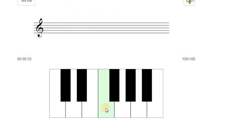Развитие абсолютного слуха по методике Бережанского 12 звуков темп Allegretto 100%