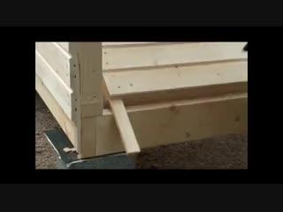 Каркасный дом - стройка - Проект  Дача