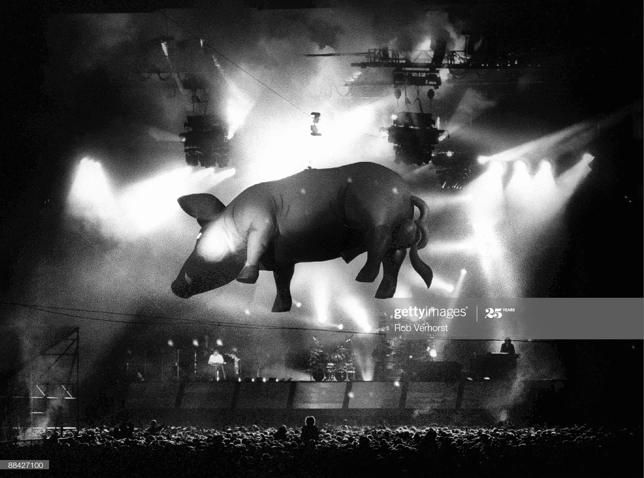 редкие фото Pink Floyd
