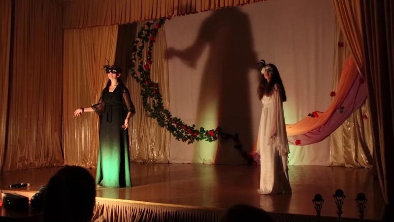 Фестиваль волонтёров Сердце людям в городе Мамоново. Выступление на сцене ДК.