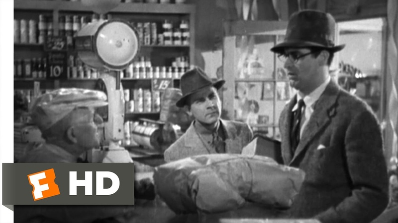 Bringing Up Baby (1938) Movie CLIP - 30 Pounds of Sirloin Steak