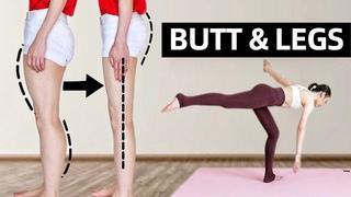Slim Leg & Tone Booty CHALLENGE!   NO SQUAT 12 Min Beginner Friendly Workout!