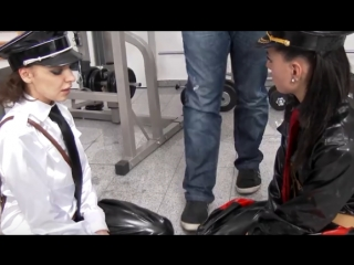 Athina  Henessy - Dom Bitches Get A Taste Of Their Own Medicine With Some Ass To Mouth!