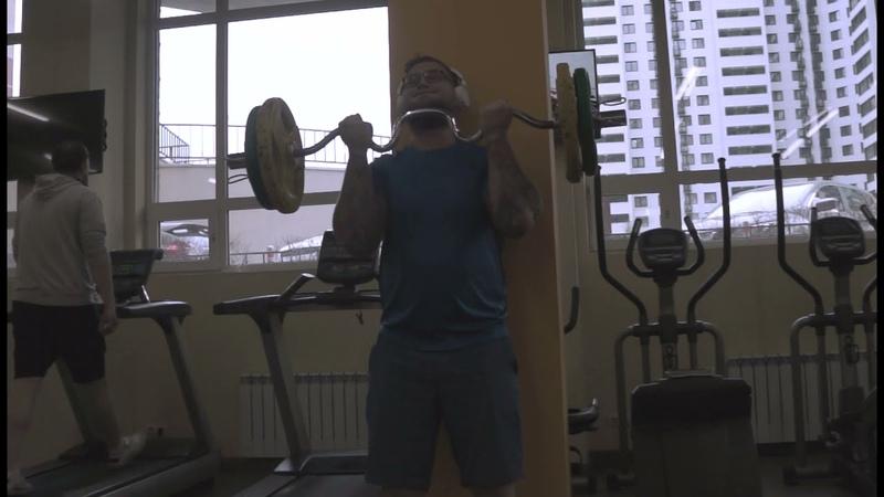 Тренировка бицепса после 20 дневного перерыва Biceps Curl Training